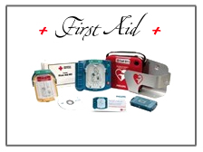 First aid supplies for the home