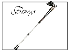 Fitness Poles and Nordic Walking Sticks