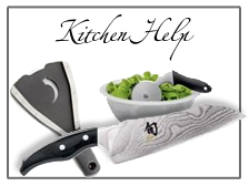 Kitchen tools, Kitchen gadgets and Cooks accessories