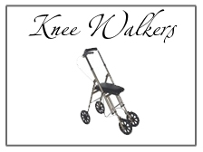 knee walkers and rollators for mobility