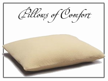 Pillows and Comforts for the Bed