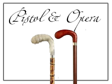 Opera and Pistol Style Handled Luxury Canes
