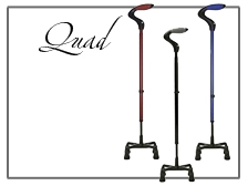 Quad Tip and Specialty Use Canes
