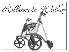 Rollators, Rolling Walkers and Walkers