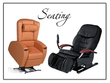 Lift Seating, Massage Chairs and More