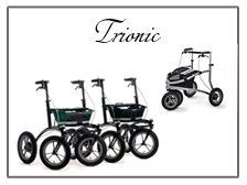 Trionic walkers and velopeds