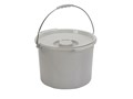 Durable bucket, with lid