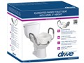 Model 12013 Drive Medical raised toilet seat with arms
