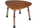 Teak wood shower stool with Adjustable Height