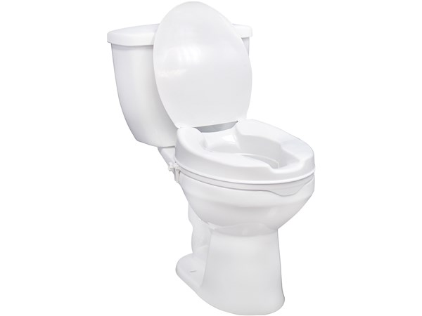 Drive Raised Toilet Seat With Or Without Lid Elderluxe