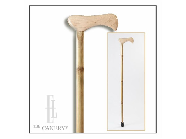 Brazos Free Form Iron Bamboo Walking Cane
