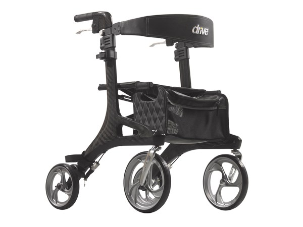 Nitro Elite CF Carbon Fiber 4 Wheel Rollator