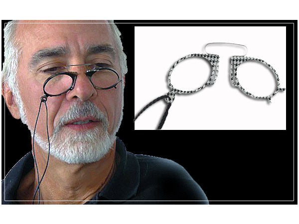 Pince Nez Reading Aids, Readers