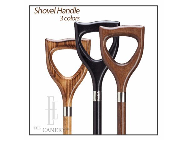 German Shovel handle style cane