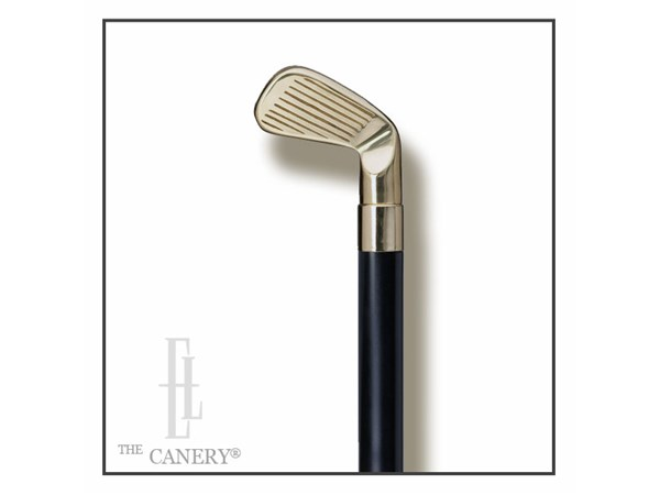Brass Golf Wedge handle cane