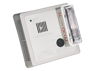 Strobe Smoke Detector - Hard Wired