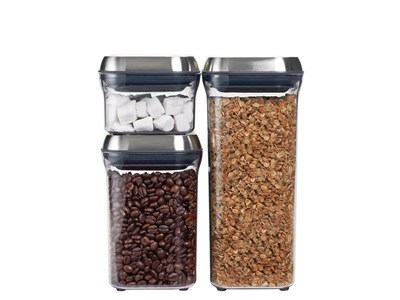 OXO® SteeL™ Canister Set