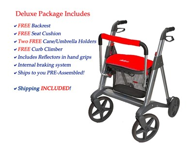 Active Rollator Deluxe package