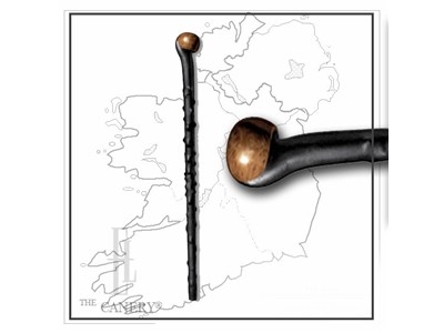 Replica Irish Blackthorn Walking Stick