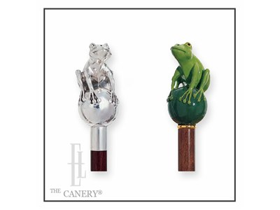 Frog Prince walking cane