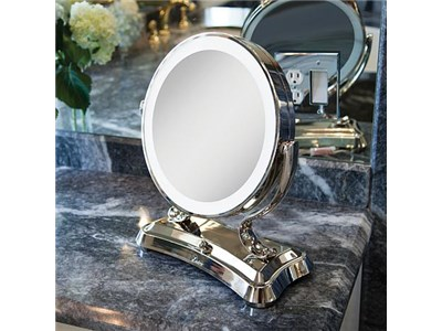 Beautiful, Generous Surround Lighted Mirror