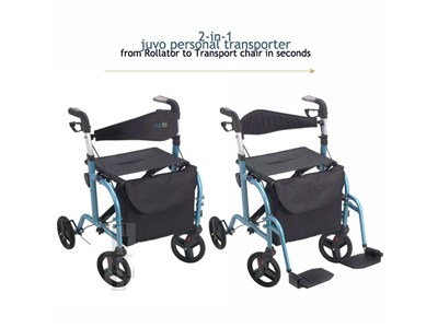 Personal Transporter: 2 in 1