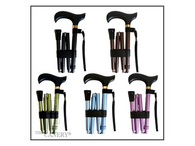 Multi-color choices for the travel cane