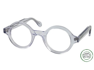 Crystal Round Reading Glasses
