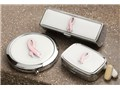 Pink Ribbon Pillbox Set
