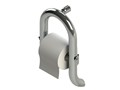 Invisia Toilet Roll Holder with Integrated Safety Support Rail