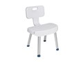 the Friendly Drive Medical Shower Chair with Folding Back