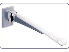 Hafele HEWI LifeSystem Hinged Bathroom Safety Support Rail