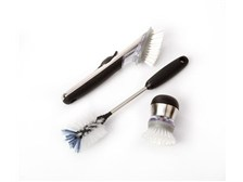 OXO SteeL Soap and Scrub brush set