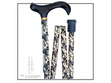Camouflage Folding Travel Derby Cane