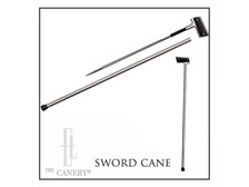 Sword Cane with Pistol style grip