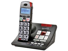 Serene Innovations CL-60A Talking Amplified Cordless Phone with Answering Machine