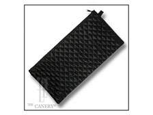 Quilted deluxe wallet for folding canes.