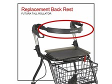 Futura Rollator replacement backrest