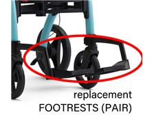 Replacement Pair of Footrests