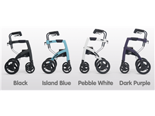 Rollz Motion² Combo Rollator and Transport Chair