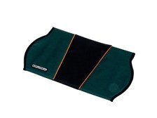 Trek Seat Cover: Green/Black/Orange