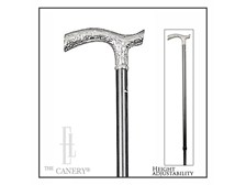 Adjustable Formal Chrome handle cane