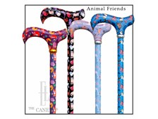 Animal Friends Collection, Adjustable Derby Handle Canes