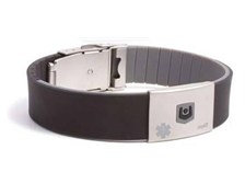 myID Medical ID Bracelet with Negative-Ion Infusion