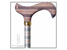 Mad for Plaid cane:derby handle