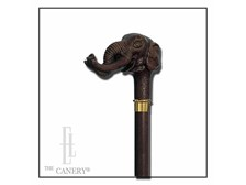 Lucky Elephant derby handle cane