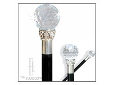 Giant Swarovski Elements crystal knobstick