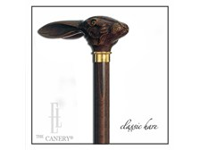 Jack the Wild Hare Rabbit Head Cane