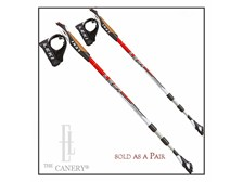 Pair of LEKI SMART Traveller ALU Aluminum Nordic Walking Poles