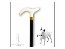 McArthur Faux ivory handle walking cane